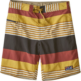 Patagonia Wavefarer Boardshorts Heren, fitz stripe/surfboard yellow